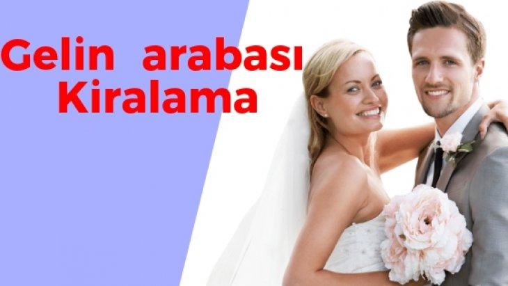 Adana Düğün için Gelin Arabası Kiralama